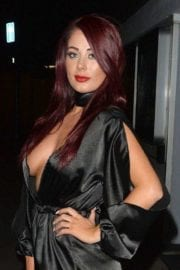 Actress Jessica Hayes Night Out in London 5