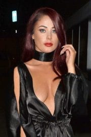 Actress Jessica Hayes Night Out in London 4