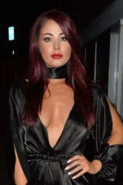 Actress Jessica Hayes Night Out in London 3