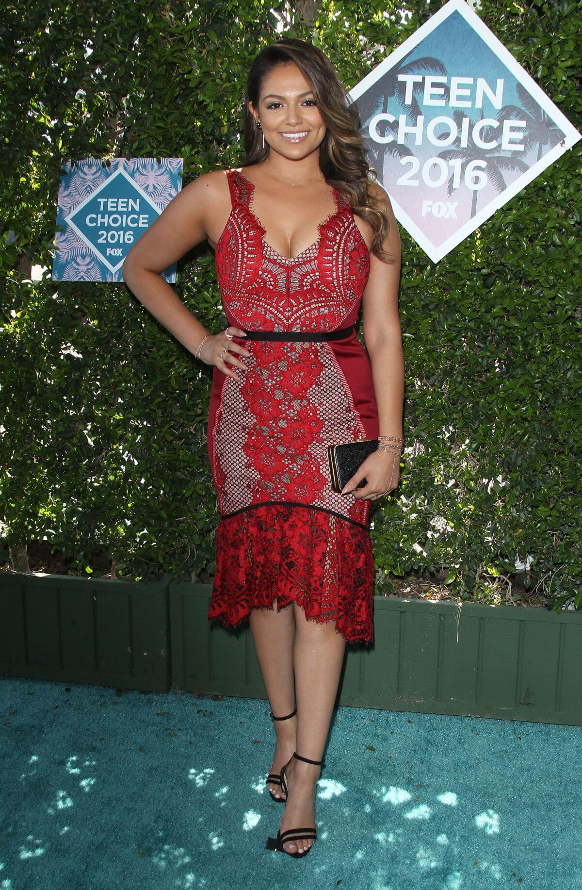 Bethany Mota at Teen Choice Awards 2016 in Inglewood