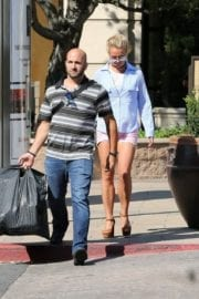 Britney Spears Out And About In West Hills