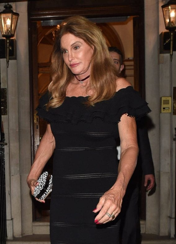 Caitlyn Jenner Night Out In London