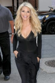 Christie Brinkley is seen out and about in New York City