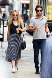 Dakota Fanning Out and About in Los Angeles in Tularosa