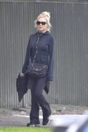Danielle Spencer Out In Rose Bay