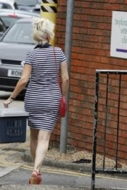 Debbie Mcgee Leaves A Veterinary Clinic In London 6
