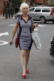 Debbie Mcgee Leaves A Veterinary Clinic In London 10
