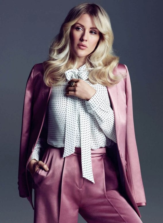 Ellie Goulding FLARE Magazine Summer 2016 Photoshoot 4