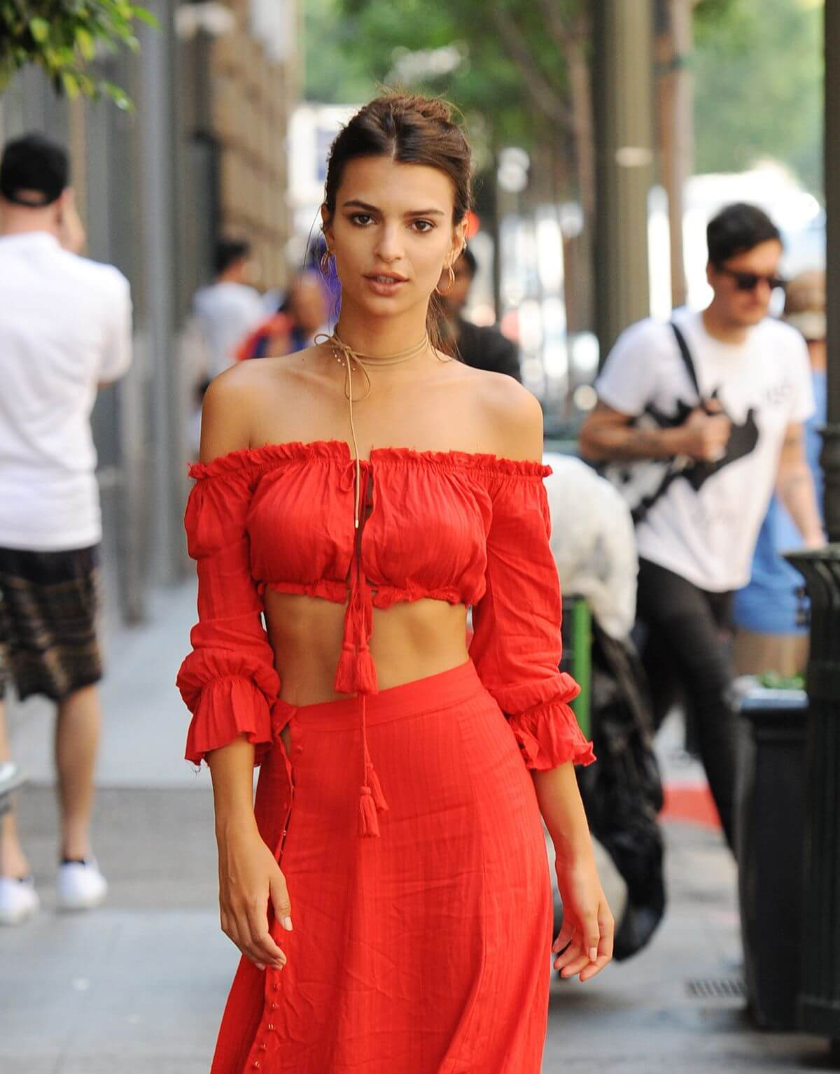 Emily Ratajkowski Booty Out and About in Los Angeles