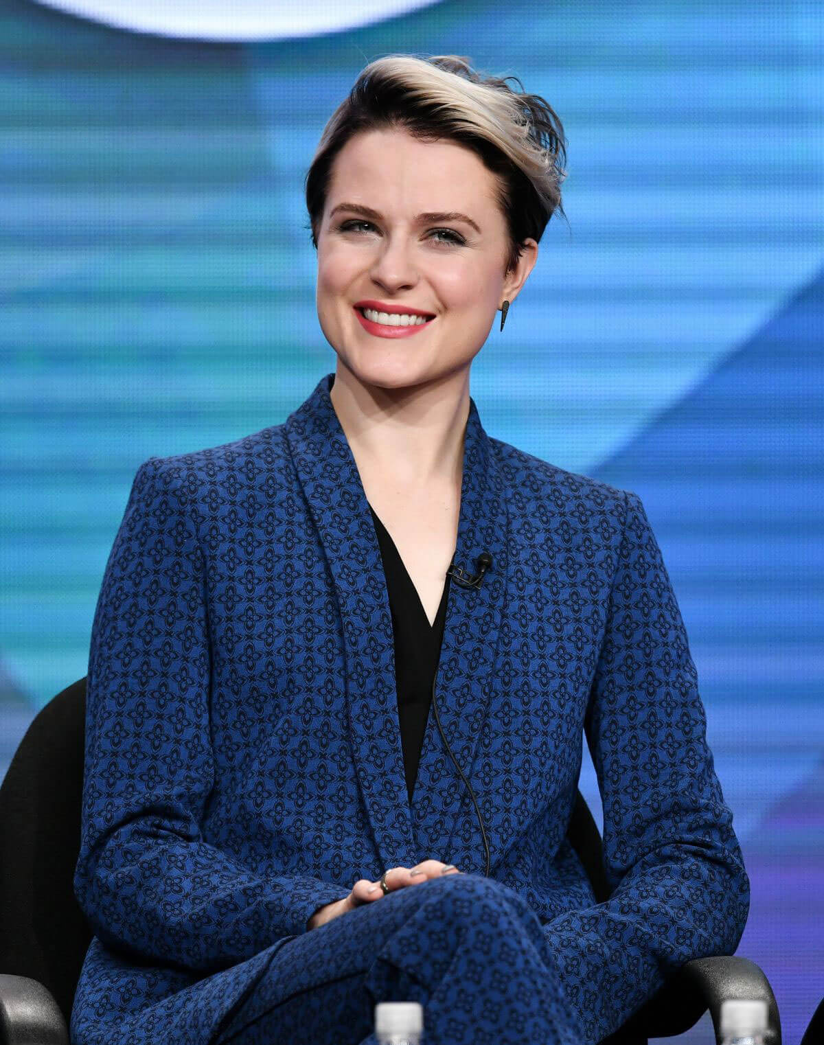 Evan Rachel Wood at Westworld Panel in Beverly Hills