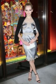 Ginta Lapina at Dolce And Gabbana Pyjama Party in New York