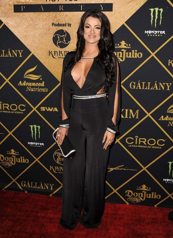 Golnesa Gharachedaghi at 2016 Maxim Hot 100 Party in Los Angeles