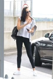 Israeli actress Gal Gadot at Heathrow Airport in London 7