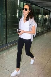 Israeli actress Gal Gadot at Heathrow Airport in London 2