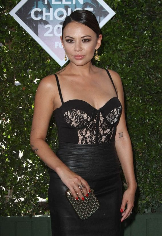 Janel Parrish at Teen Choice Awards 2016 in Inglewood
