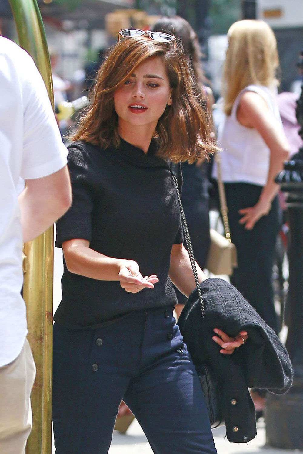 Jenna-Louise Coleman Out in New York City 6
