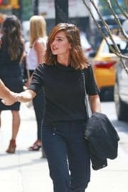 Jenna-Louise Coleman Out in New York City 1