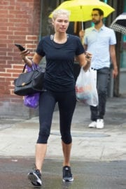 Jessica Hart Out and About in New York