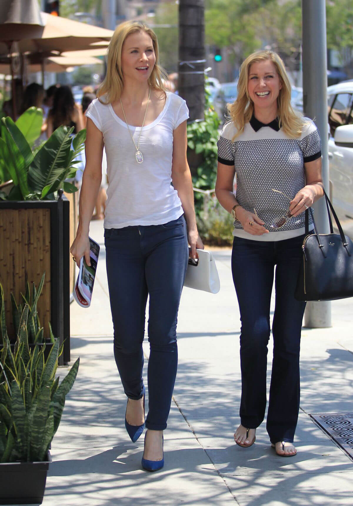 Josie Davis and Donielle Williams Out in Beverly Hills
