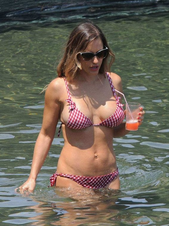 Lola Ponce Bikini Candids at Pool 1
