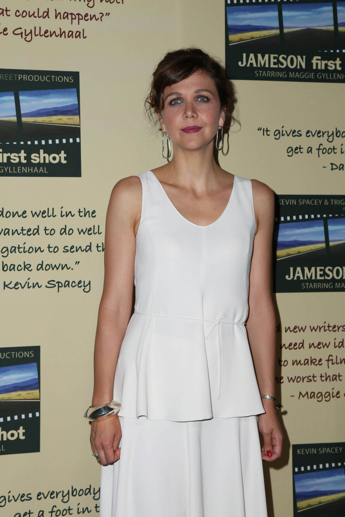 Maggie Gyllenhaal at Jameson First Shot Premiere in Los Angeles