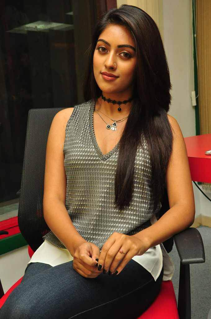 Actress Anu Emmanuel at Radio Mirchi Photos