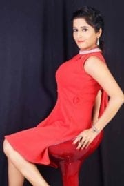 Actress Kate Sharma Hot Photoshoot in Red Dress Images