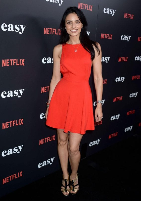 Aislinn Derbez at Easy Premiere in West Hollywood