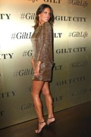 Alessandra Ambrosio Stills GiltLife Launch Party Event in New York City