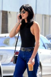 Ali Lohan in Jeans Out in Beverly Hills actress 14/09/2016