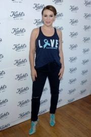 Alyssa Milano at Kiehl Liferide for the Ovarian Cancer Research Fund Alliance Photos