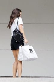 American Actress Danielle Campbell Out and About in Hollywood