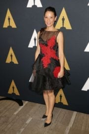 American Actress Lucy Liu at Student Academy Awards in Los Angeles