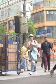 American Singer Katy Perry Out And About In Shanghai