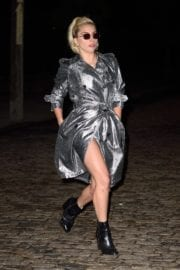 American Singer Lady Gaga Night Out in New York