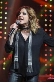 American Singer Martina McBride Performs at Band Against Cancer Tour