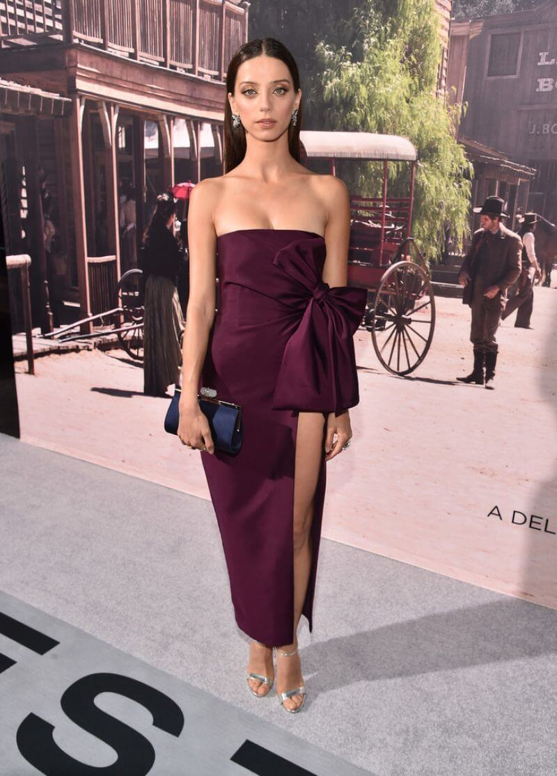Angela Sarafyan Stills at 'Westworld' Premiere in Hollywood