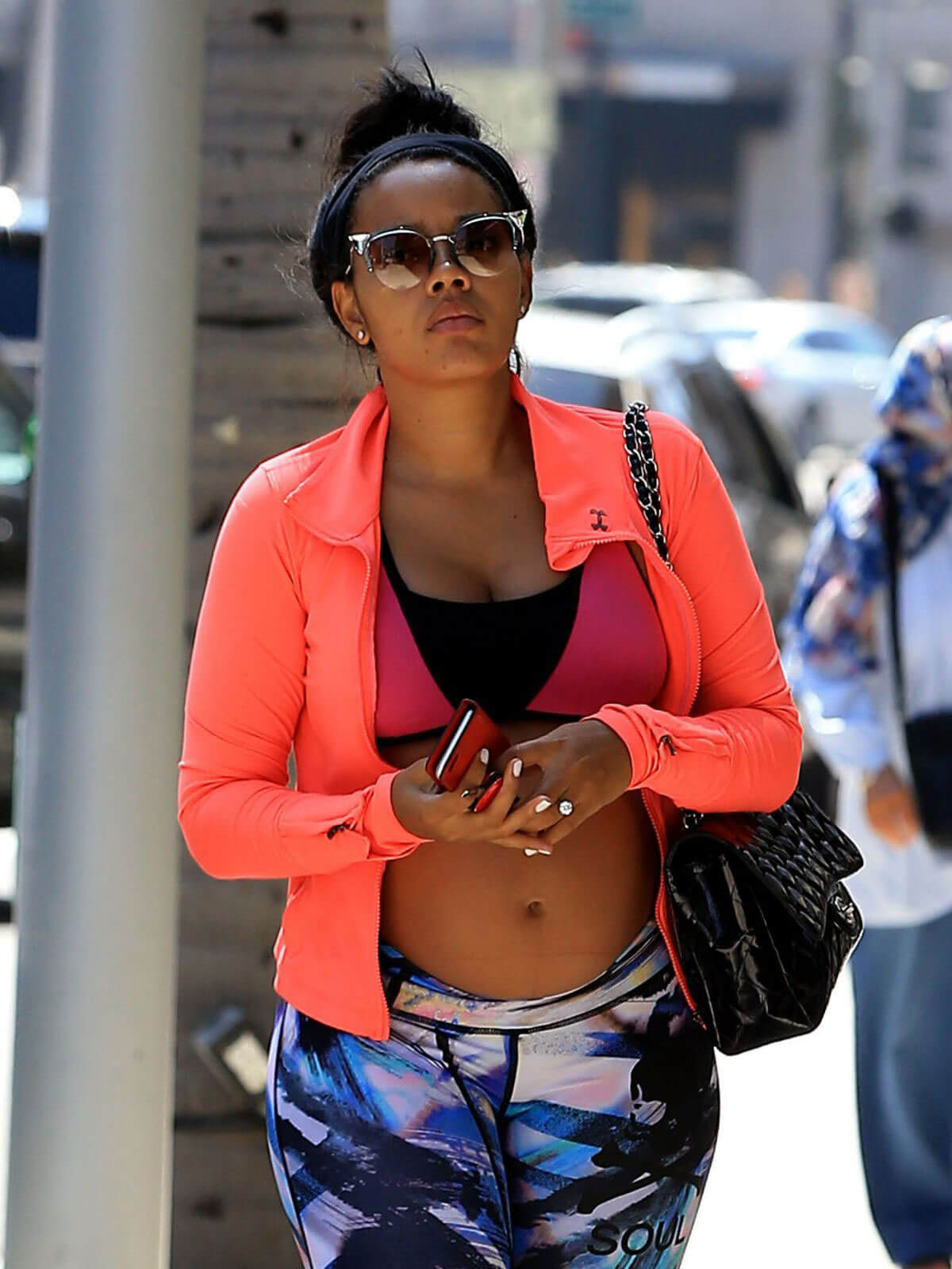 Angela Simmons Out in Beverly Hills - 14/09/2016