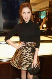 Anna Kendrick Stills at Tiffany and GQ Style Celebrate A/W Issue in London