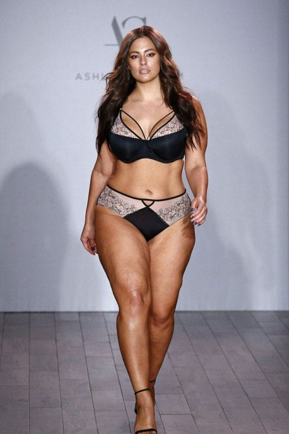 Ashley Graham Show Her Lingerie Line for Addition Elle at NYFW