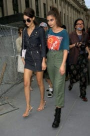 Bella Hadid and Taylor Marie Hill Out in New York
