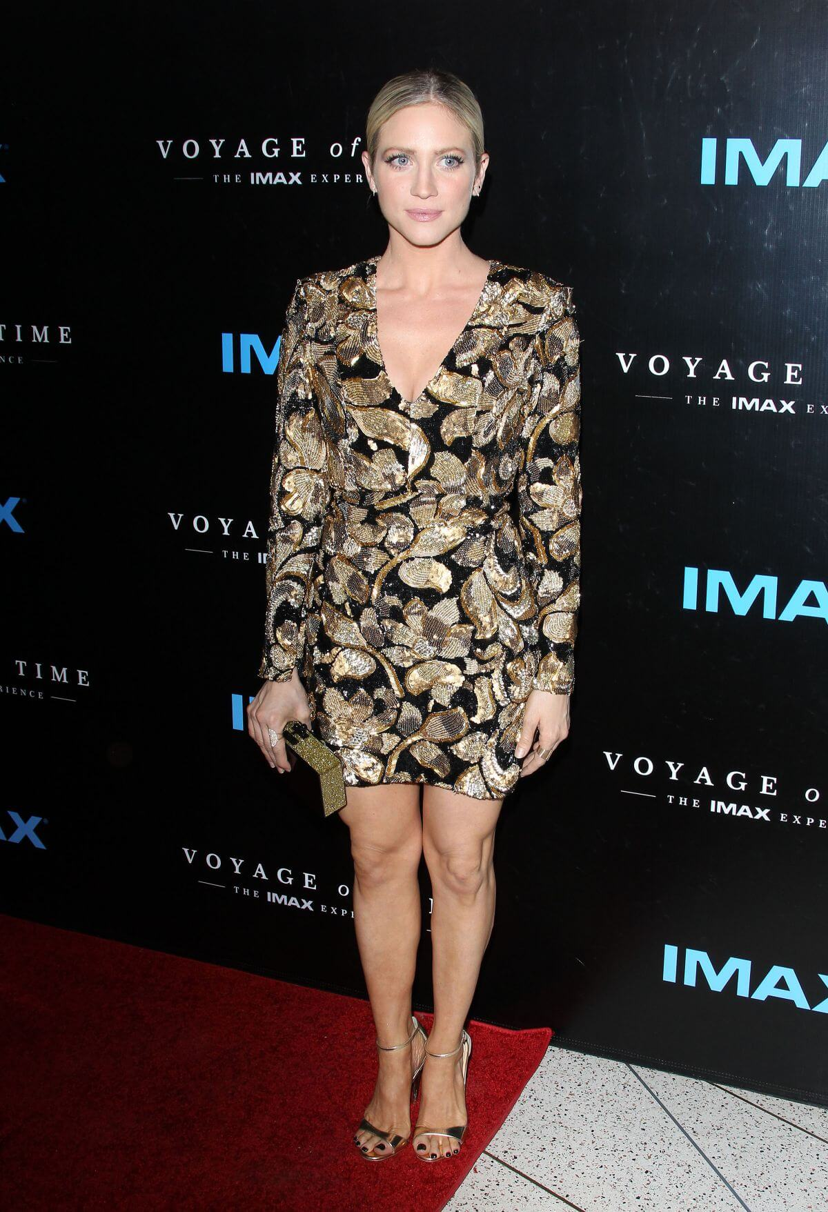 Brittany Snow Stills at the Voyage of Time: The IMAX Experience Premiere in Los Angeles