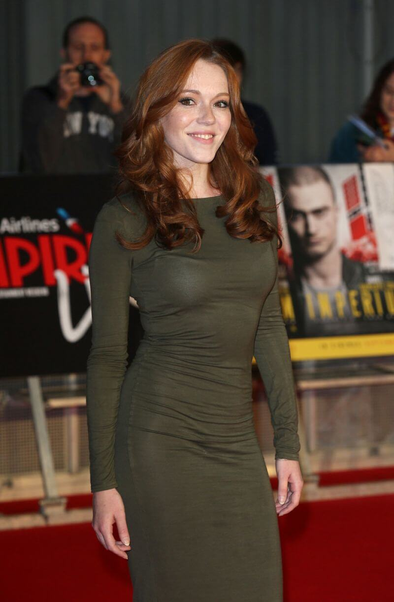 Charlotte Spencer at Empire Live Swiss Army Mam & Imperium Gala Screening In London