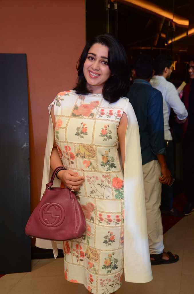Charmy Kaur at Nirmala Convent Movie Premier Show Photos