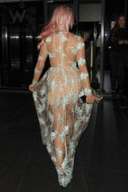 Chole Paige at W Hotel in London - 14/09/2016