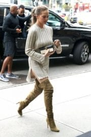 Chrissy Teigen Stills Out and About in New York