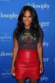 Christina Milian at Philosophy And Ellen Pompeo Welcome You To The Age Of Cool in West Hollywood