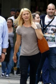 Claire Danes on the Set of 'Homeland' in New York - 14/09/2016