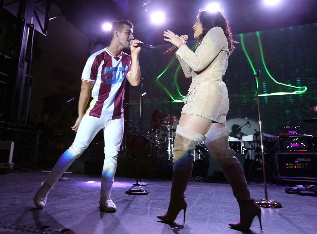 Demi Lovato Performs at a Concert for Marriott Rewards Members