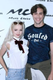 Dove Cameron at Music Choice Studio in New York - 15/09/2016